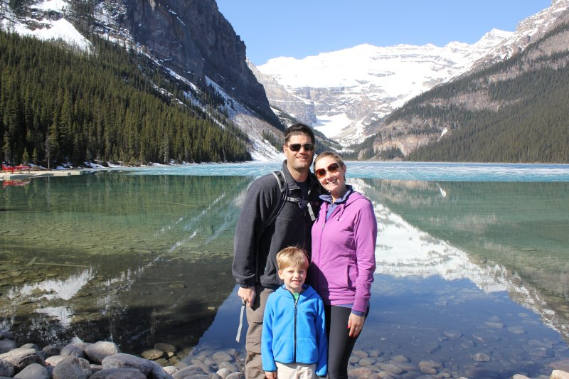 Family Vacation to Lake Louise