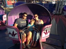 Adoptive Family Photo: Fun at the Fair
