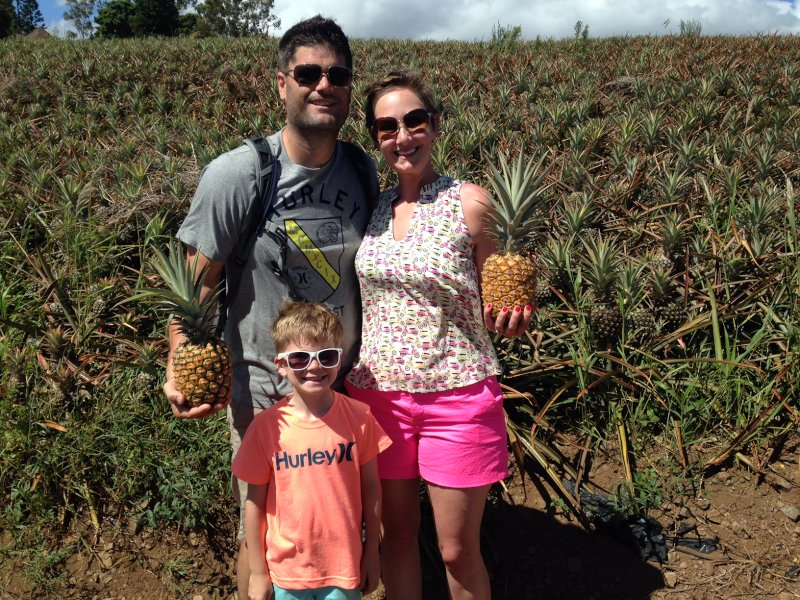 Having Fun on a Pineapple Tour in Hawaii