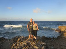 Adoptive Family Photo: Exploring the Bahamas