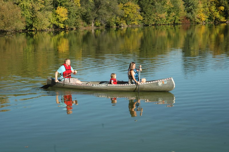 We Love Outdoor Adventures, Especially on the Canoe