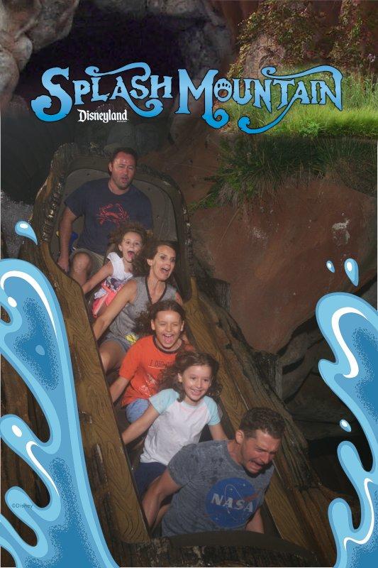 Fun on Splash Mountain