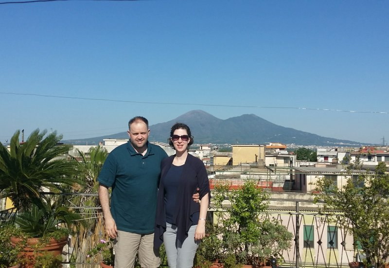 Checking Out Mt. Vesuvius