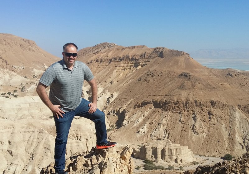 Taking in the Scenery in Israel