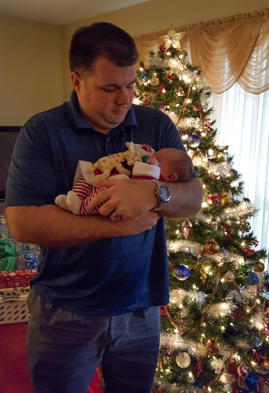 Uncle Chad with Our Sweet Niece