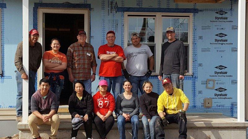 Kim Volunteering in the Community