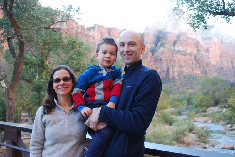 Trip to Zions Park