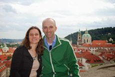 Adoptive Family Photo: All Smiles in Prague, click to view bigger version