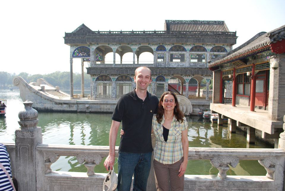 Visiting the Summer Palace in China