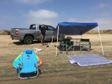 Adoptive Family Photo: Just Another Beach Day - We Love Living in California!, click to view bigger version