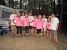 Adoptive Family Photo: Camping with Friends , click to view bigger version