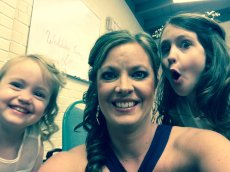 Adoptive Family Photo: Being Silly with Our Nieces, click to view bigger version