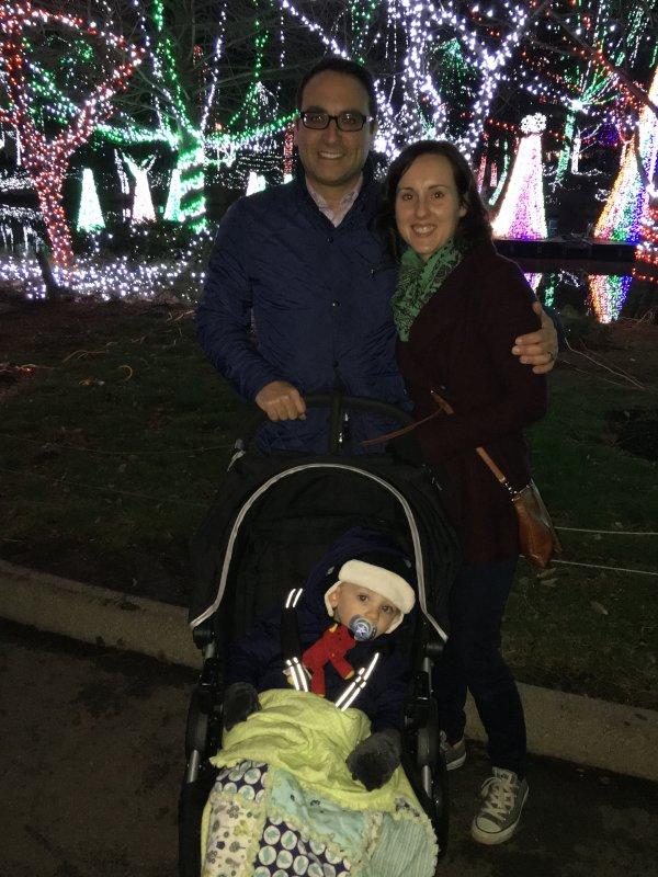 Christmas Lights at the Zoo