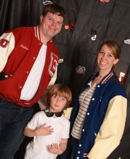 Adoptive Family Photo: Ready for the School Sock Hop, click to view bigger version