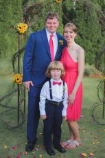 Adoptive Family Photo: All Dressed Up, click to view bigger version