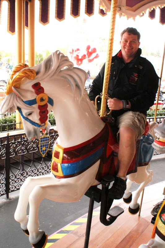 You're Never Too Old to Ride the Merry Go Round!