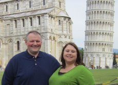 Adoptive Family Photo: Italy Vacation