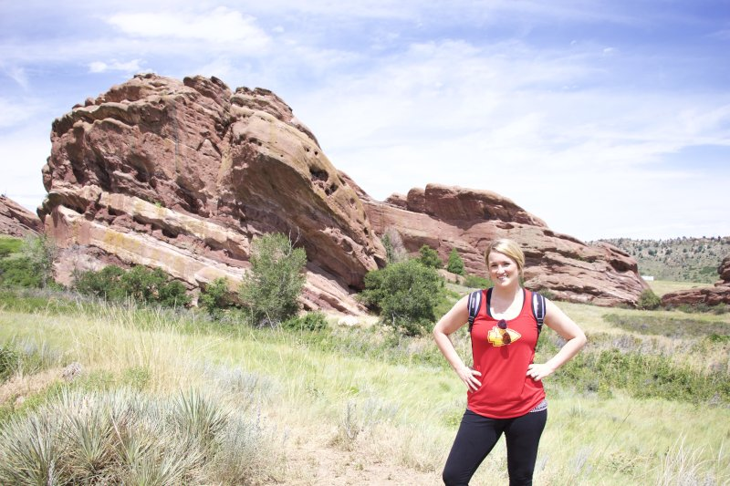 Hiking in Red Rocks