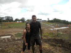 Adoptive Family Photo: After a Charity Mud Run, click to view bigger version