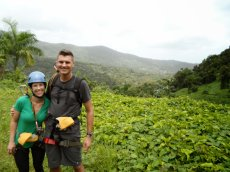Adoptive Family Photo: Ziplining in Puerto Rico, click to view bigger version