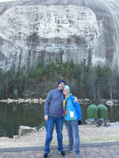 Adoptive Family Photo: Winter Trip to Stone Mountain, click to view bigger version