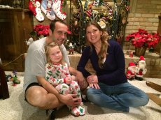 Adoptive Family Photo: Christmas at Grammy's House, click to view bigger version