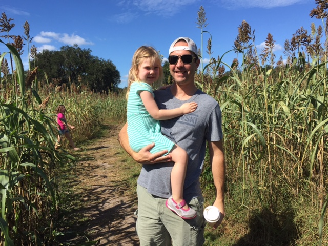 Fun at the Corn Maze