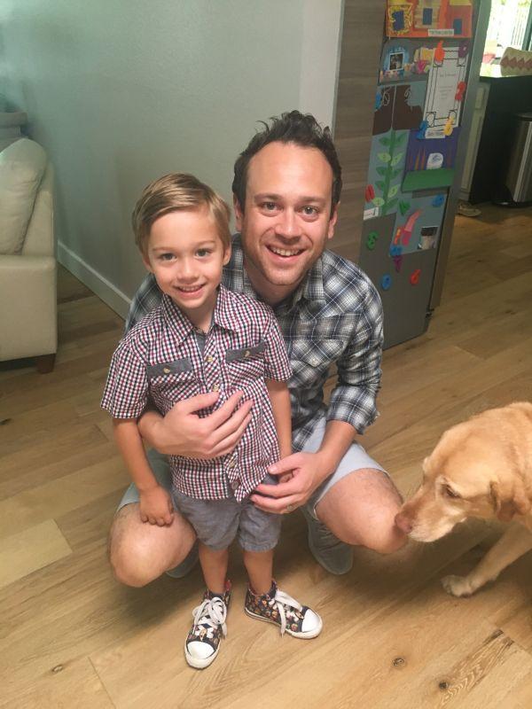 Dad Day at School!