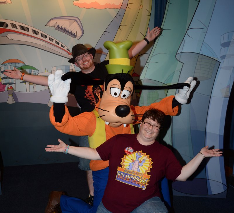 Being Goofy at Disney World