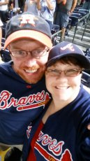 Adoptive Family Photo: This is Braves Country, click to view bigger version
