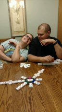 Adoptive Family Photo: Game Night with Family, click to view bigger version