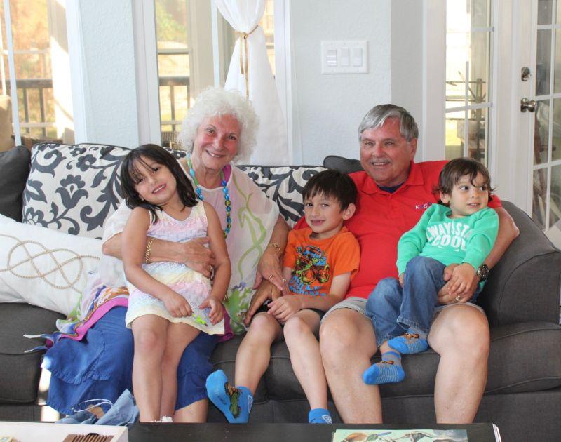 With Grandma & Grandpa