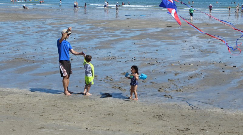 Flying a Kite with Daddy