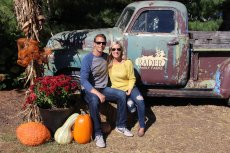 Adoptive Family Photo: Pumpkin Patch Fun, click to view bigger version