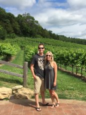 Adoptive Family Photo: Visiting a Vineyard for Our Anniversary, click to view bigger version