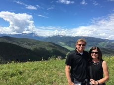Adoptive Family Photo: Beautiful Scenery in Colorado, click to view bigger version