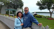 Adoptive Family Photo: Mackinac Island, click to view bigger version
