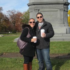 Adoptive Family Photo: Exploring Boston, click to view bigger version