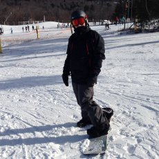 Adoptive Family Photo: Josh Hitting the Slopes, click to view bigger version