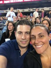 Adoptive Family Photo: Selfie at a Bon Jovi Concert, click to view bigger version