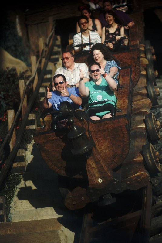 Two Thumbs Up for This Roller Coaster!