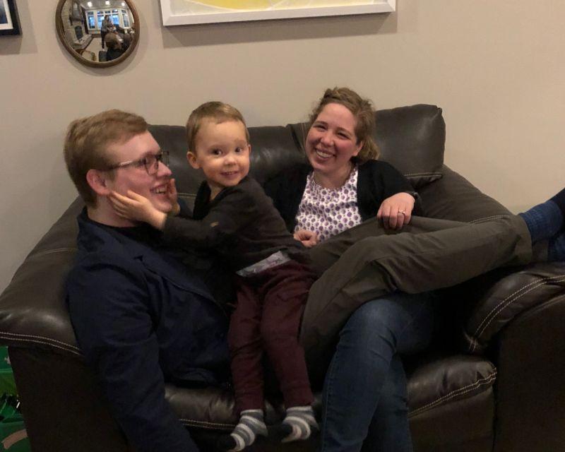 Henry Loves Uncle Sam & Aunt Kiki