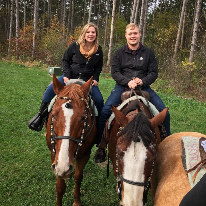 Fun Horseback Riding Date