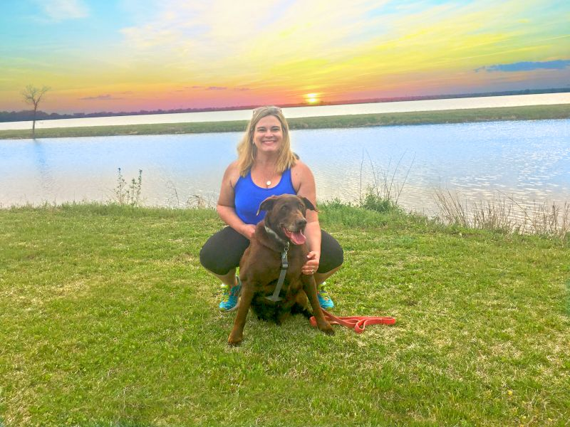 Sunset Walk With Our Sweet Huck