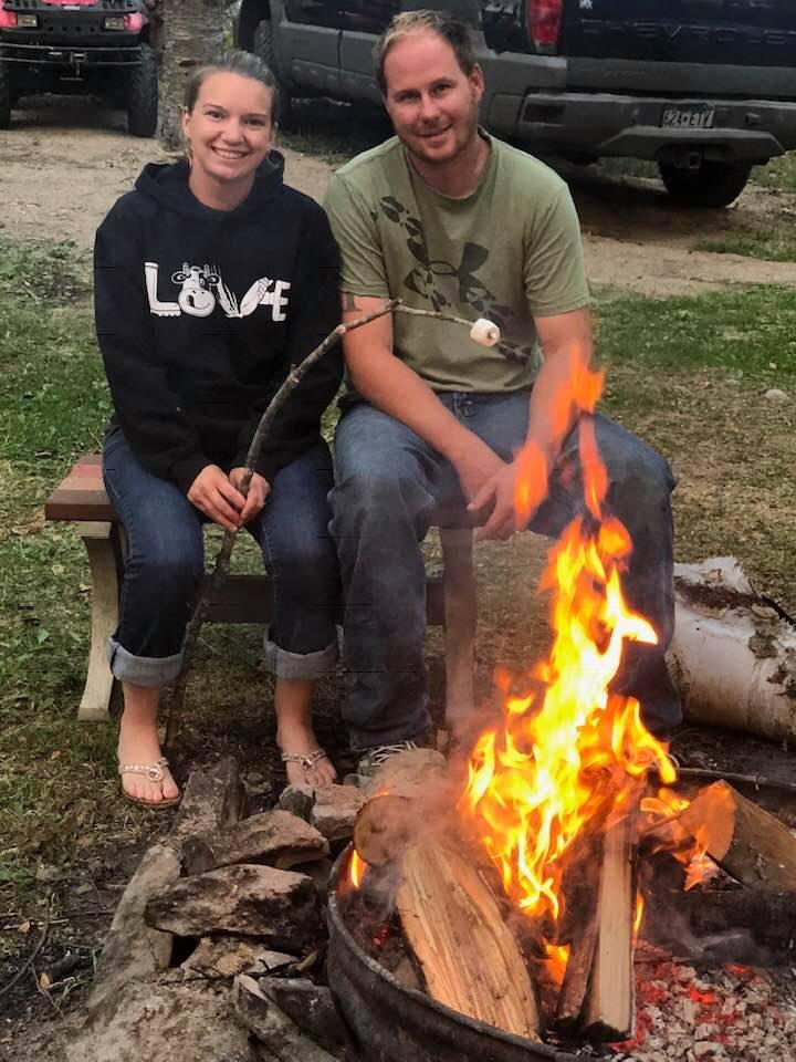 Roasting Marshmallows at the Cabin