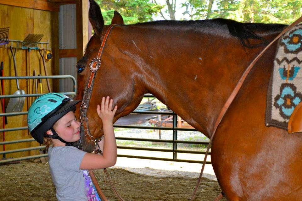 Sophia Loves Riding Lessons