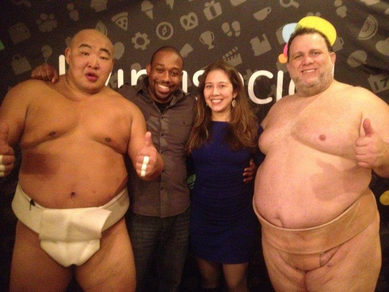 Sumo Wrestling Date Night