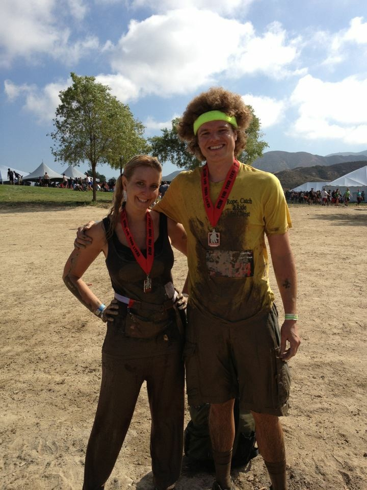 Just Finished the Mud Run