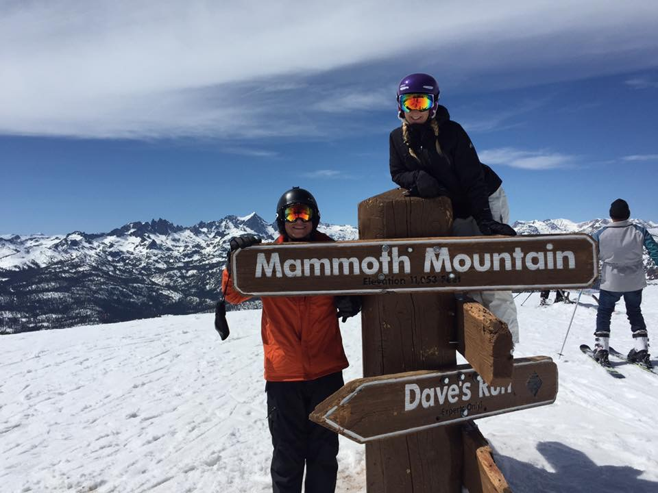 At the Top of Mammoth Mountain