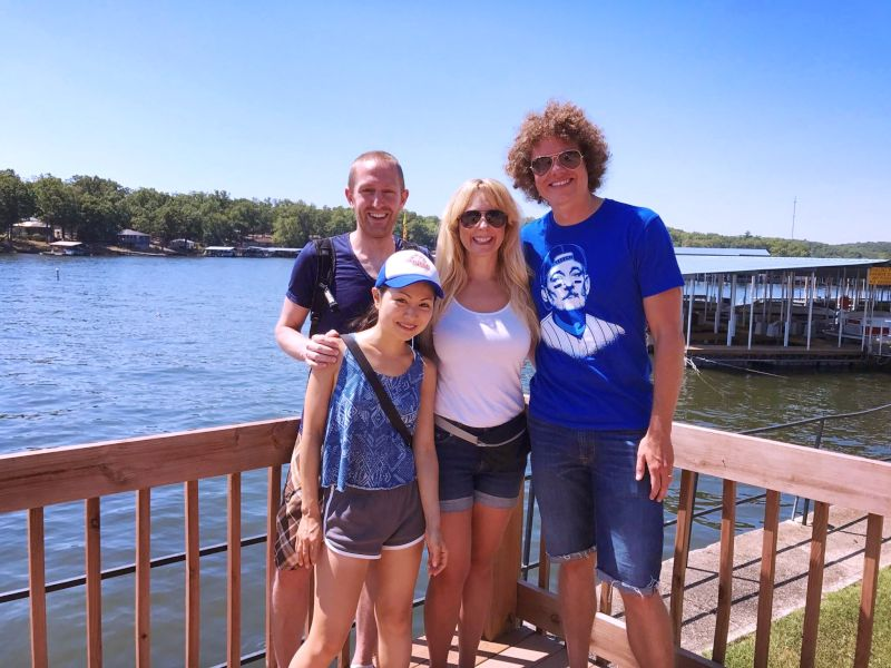 Lake Time with Sarah's Brother & Sister-in-Law